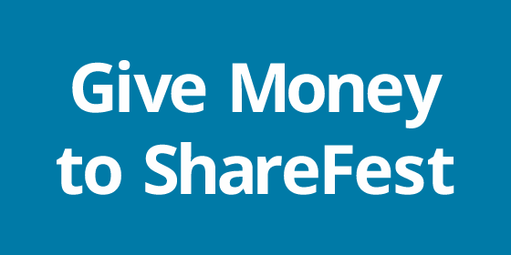 Give money to ShareFest